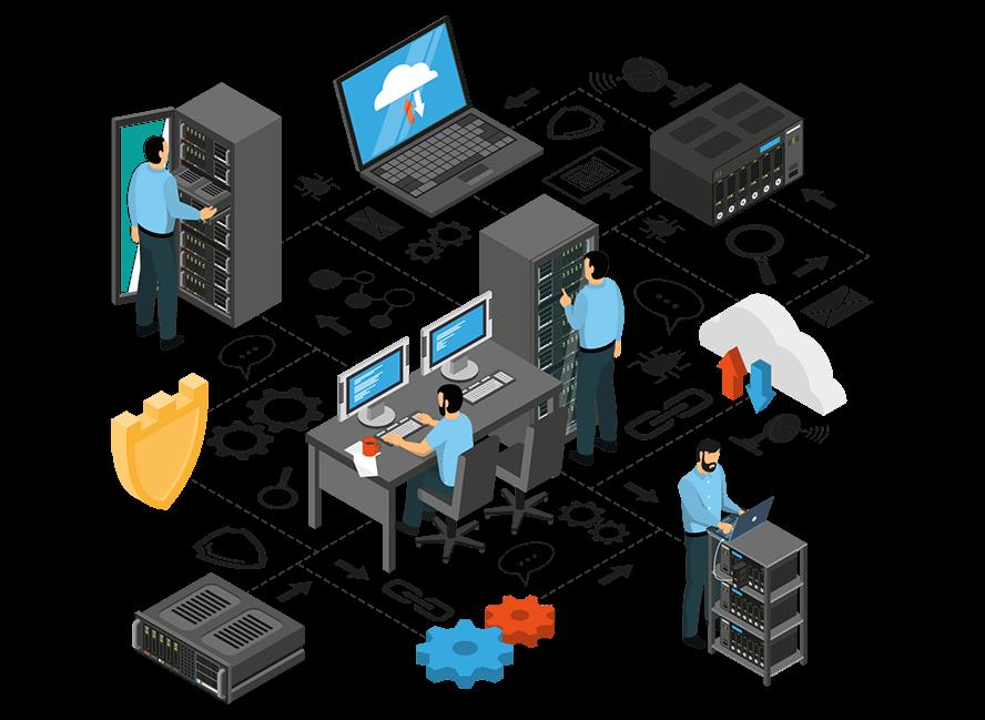 Maintenance informatique pour entreprise