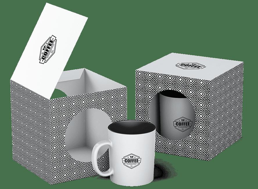 Mug objet publicitaire avec Wictory