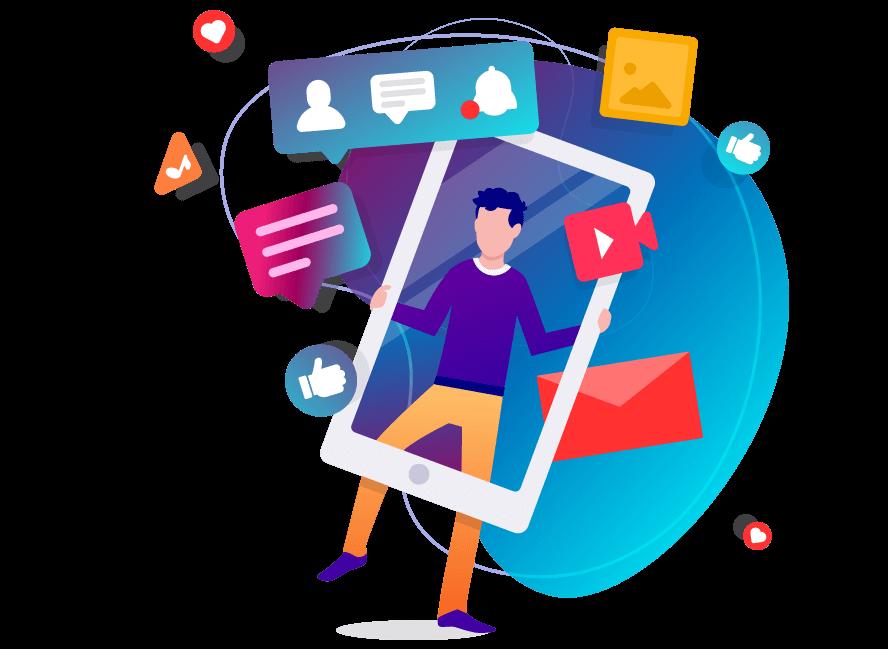 Marketing numérique avec Wictory