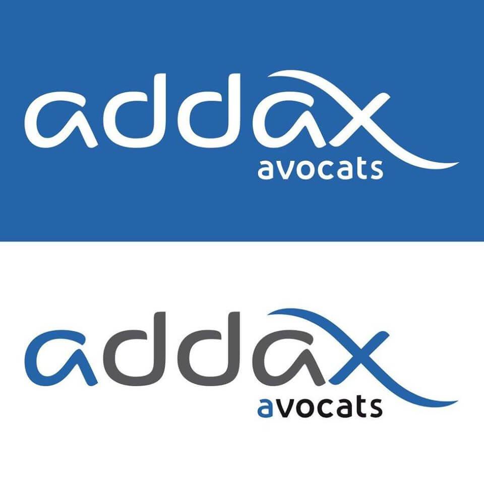 Création du logo et de la charte graphique pour Addax Avocats