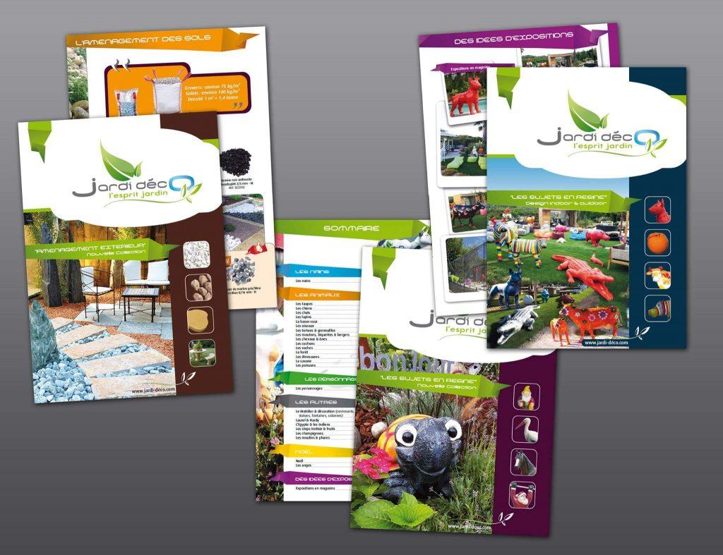 Conception, réalisation et impression des catalogues produits de 160 pages