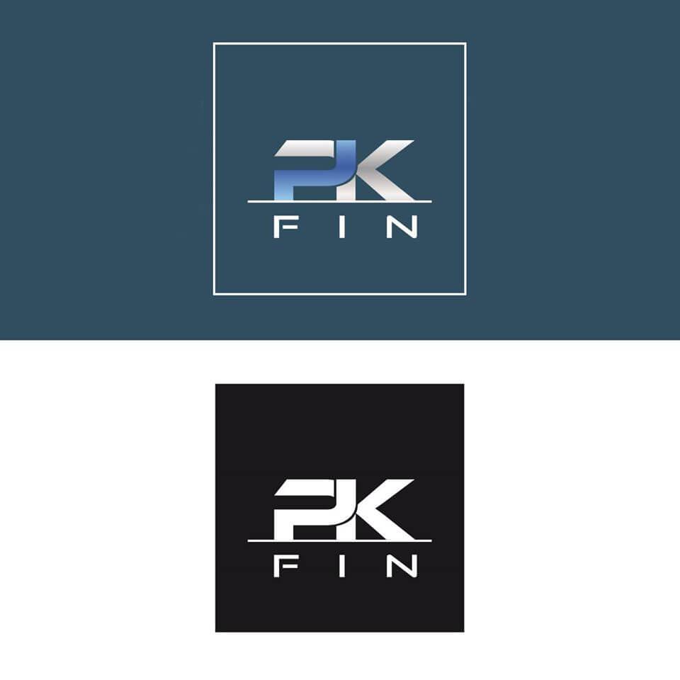 Conception d'un logo pour l'entreprise PK Fin