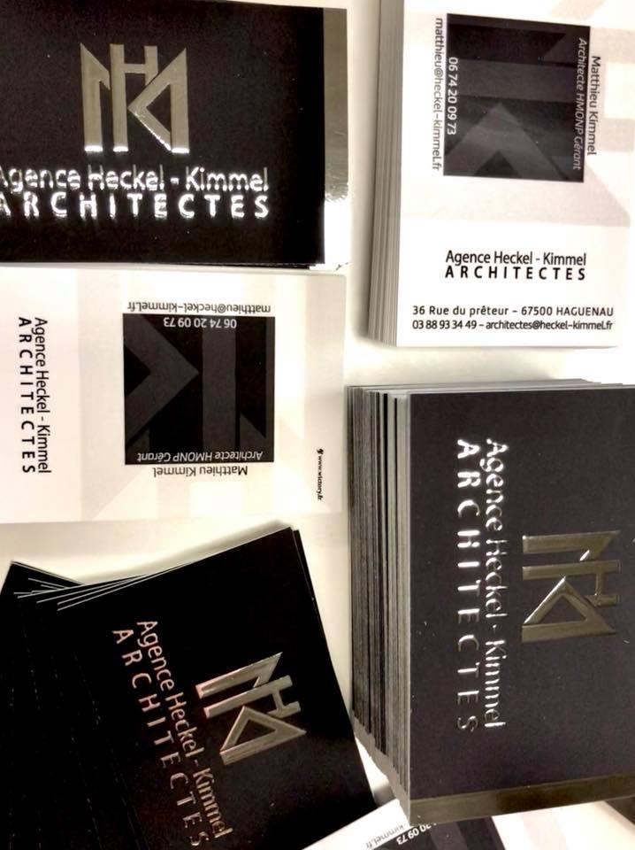 Nouveau #design pour l'agence d'architecture Heckel - Kimmel