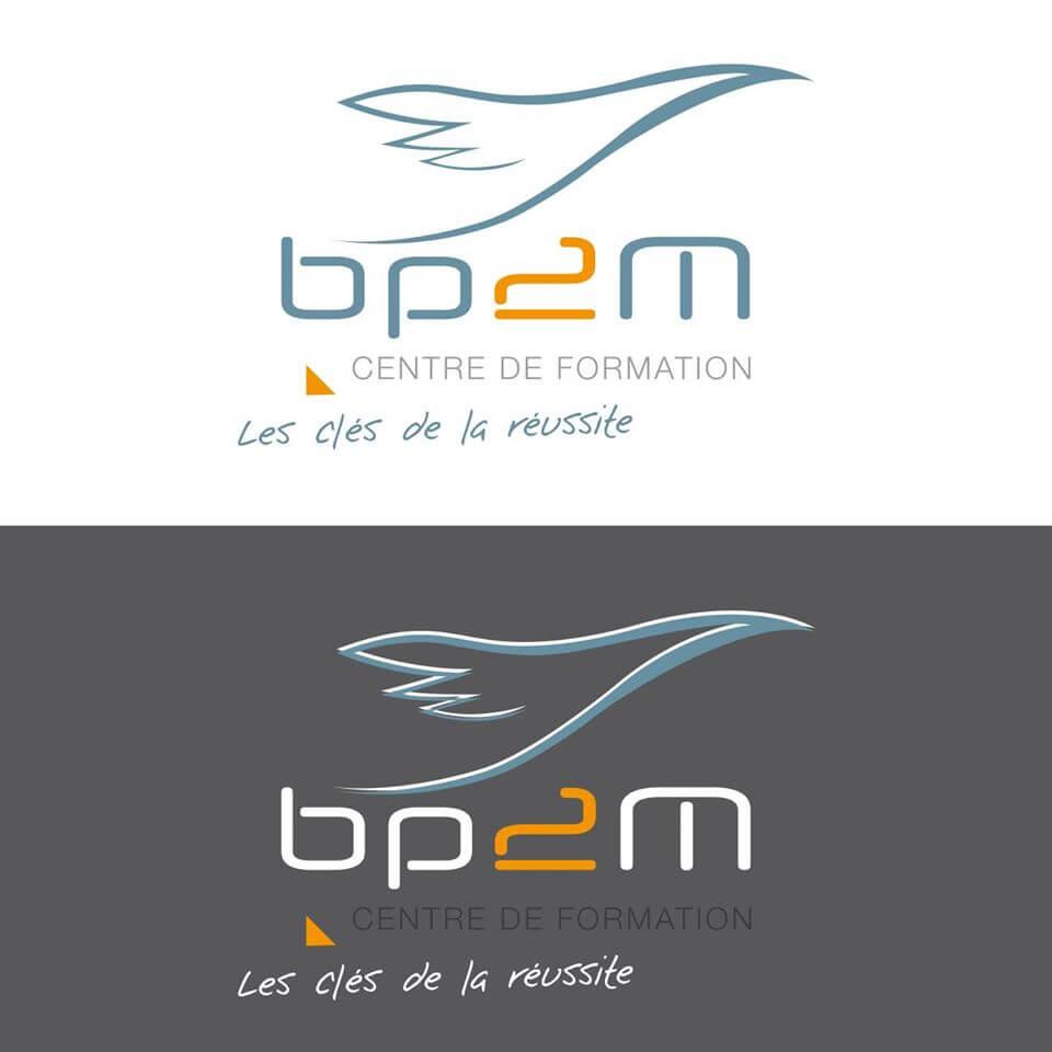 Création du nouveau logo et du design pour BP2M