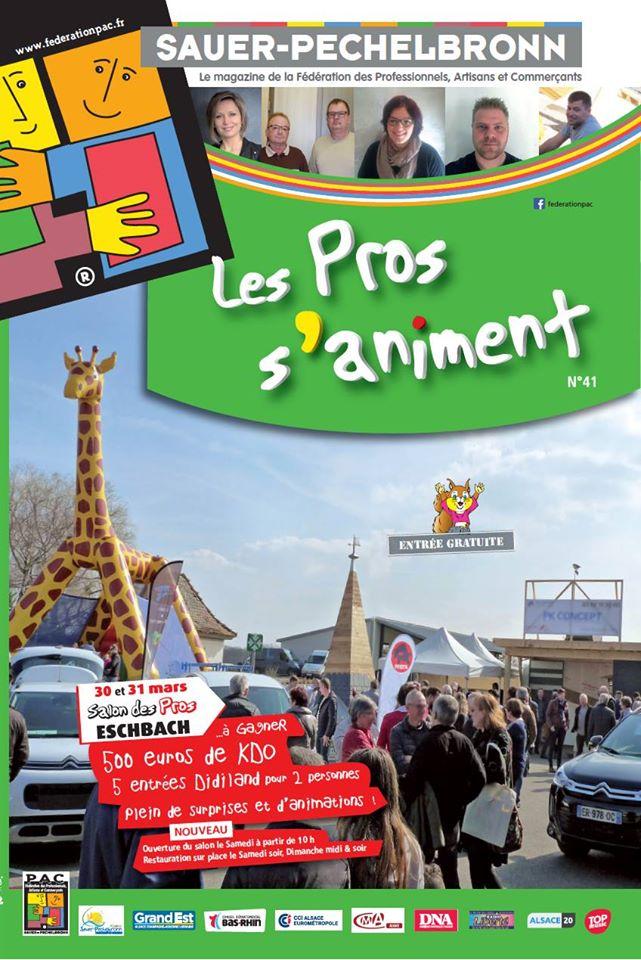 Conception du magazine pour la Fédération PAC