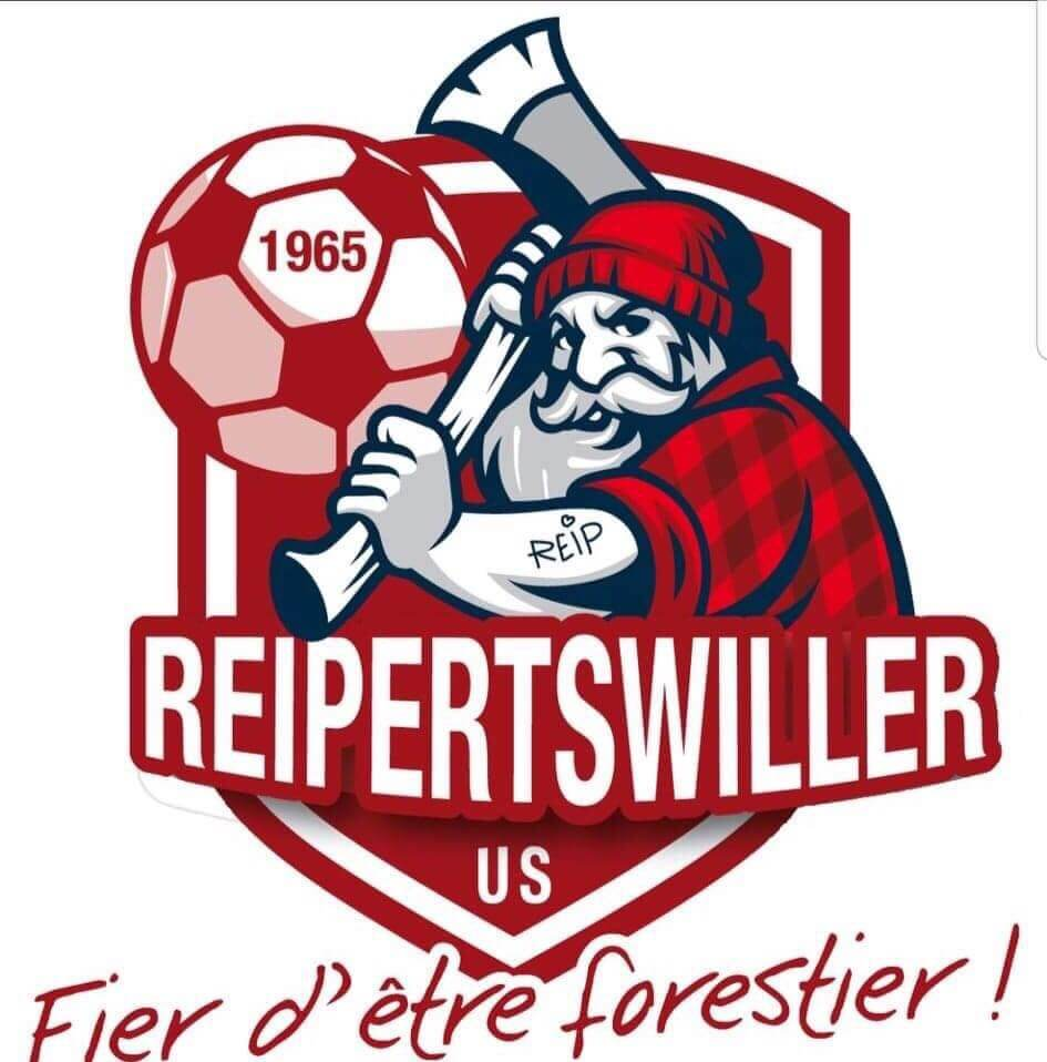 Conception et réalisation du nouveau logo pour l' Us Reipertswiller : Fiers d'être forestier ! ...et fier du résultat