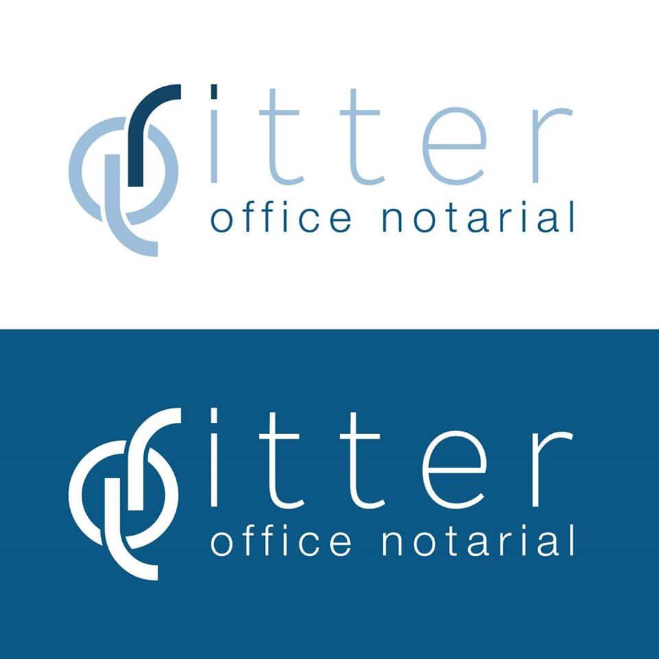 Création du logo et de la charte graphique pour l'Office Notarial Ritter