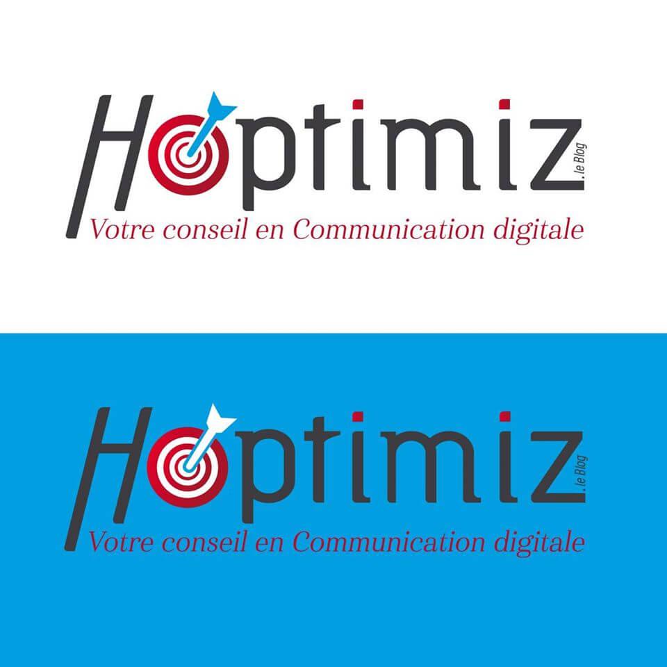 Création du logo et de la charte graphique pour Hoptimiz L'image contient peut-être : texte qui dit 'Η ptimiz Votre conseil en Communication digitale optimiz Votre conseil en Communication digitale'