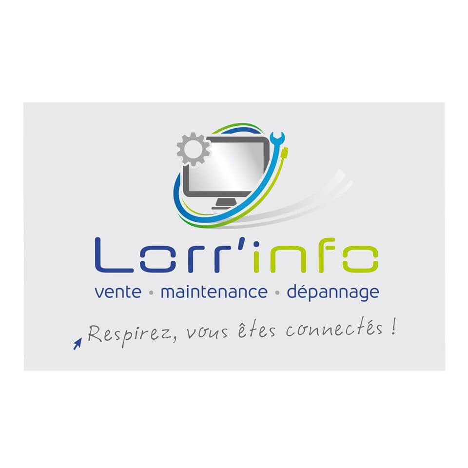 Création du logo et de la charte graphique pour Lorr-Info