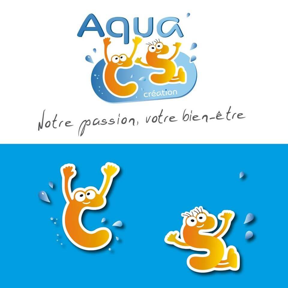 Création du logo et du site de vente en ligne pour Aqua CS Création. Belle visite sur www.aqua-cs.fr