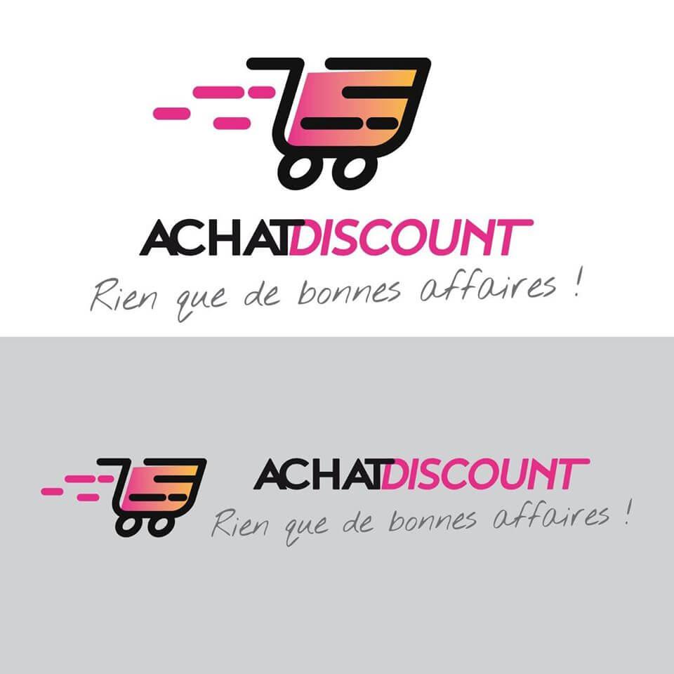 Création du logo et de la charte graphique pour Achat Discount. Retrouvez prochainement la boutique en ligne que nous sommes entrain de développer.