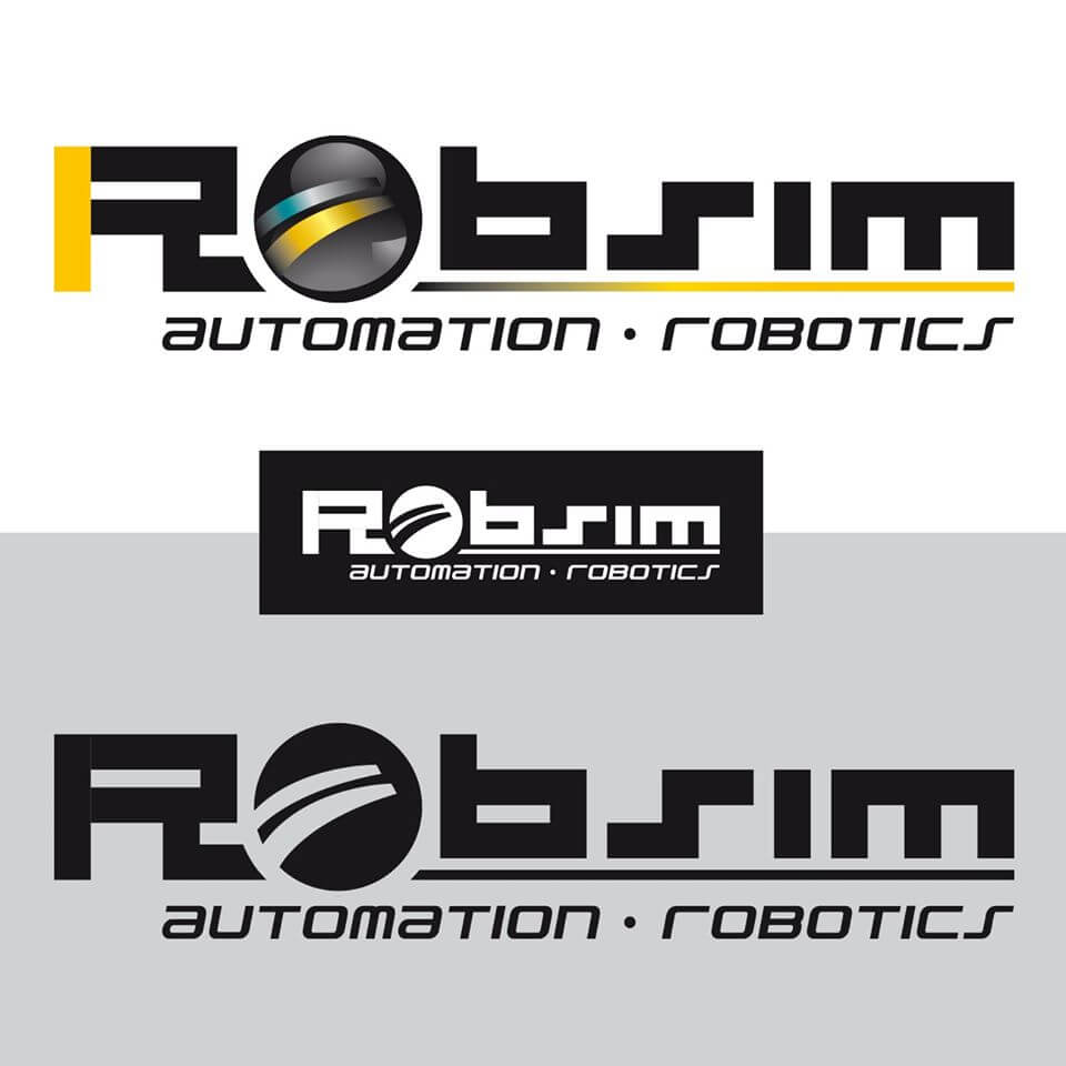 Conception et création du nouveau logo pour Robsim