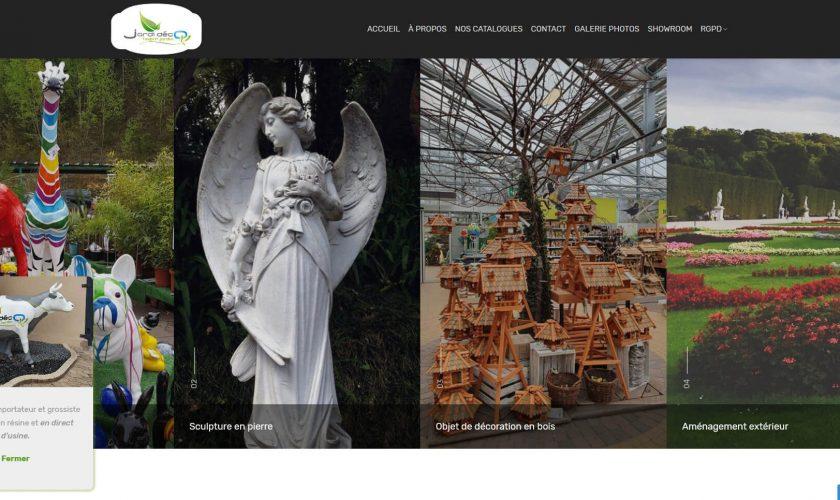 Création du nouveau site pour Jardi Déco
