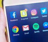 Réseaux sociaux sur mobile