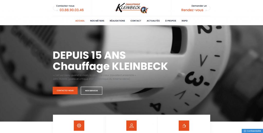 Installation et maintenance de chauffage et de climatisation - Chauffage Kleinbeck
