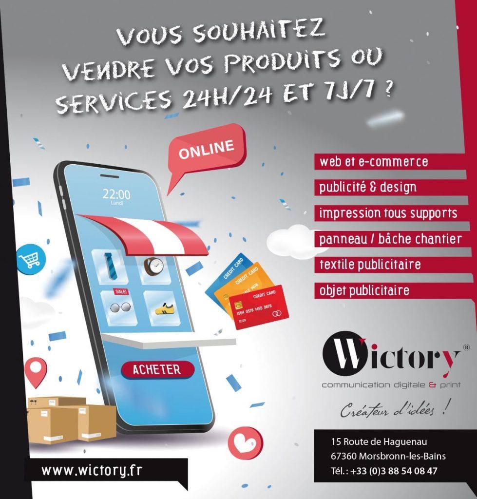 Création de votre site ecommerce avec Wictory