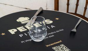 Set de table pour pizzeria créé par Wictory